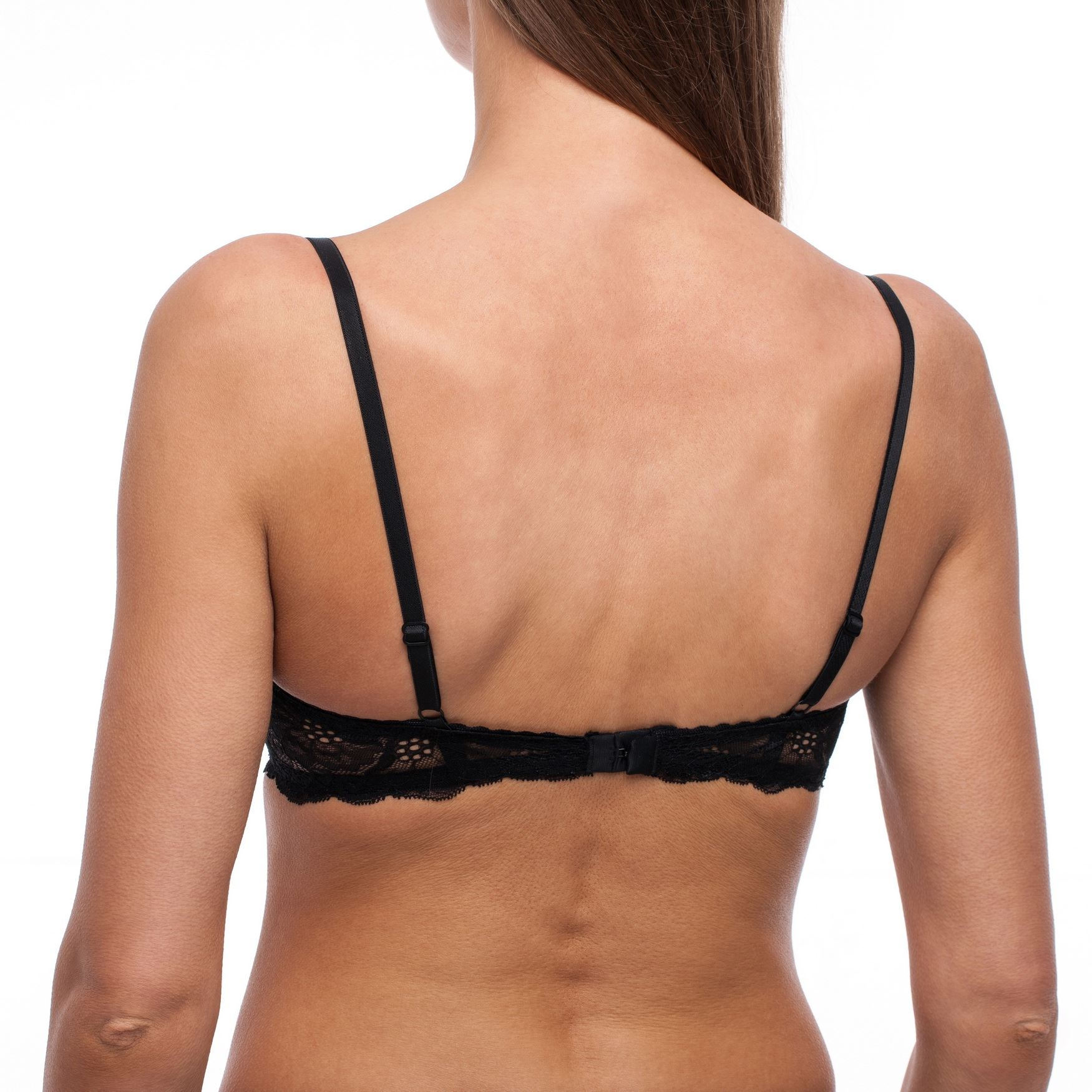 Balconette-Demi-Underwire-Lightly-Padded-Sexy-Comfortable-Lace-Half-Cup-Bra thumbnail 9