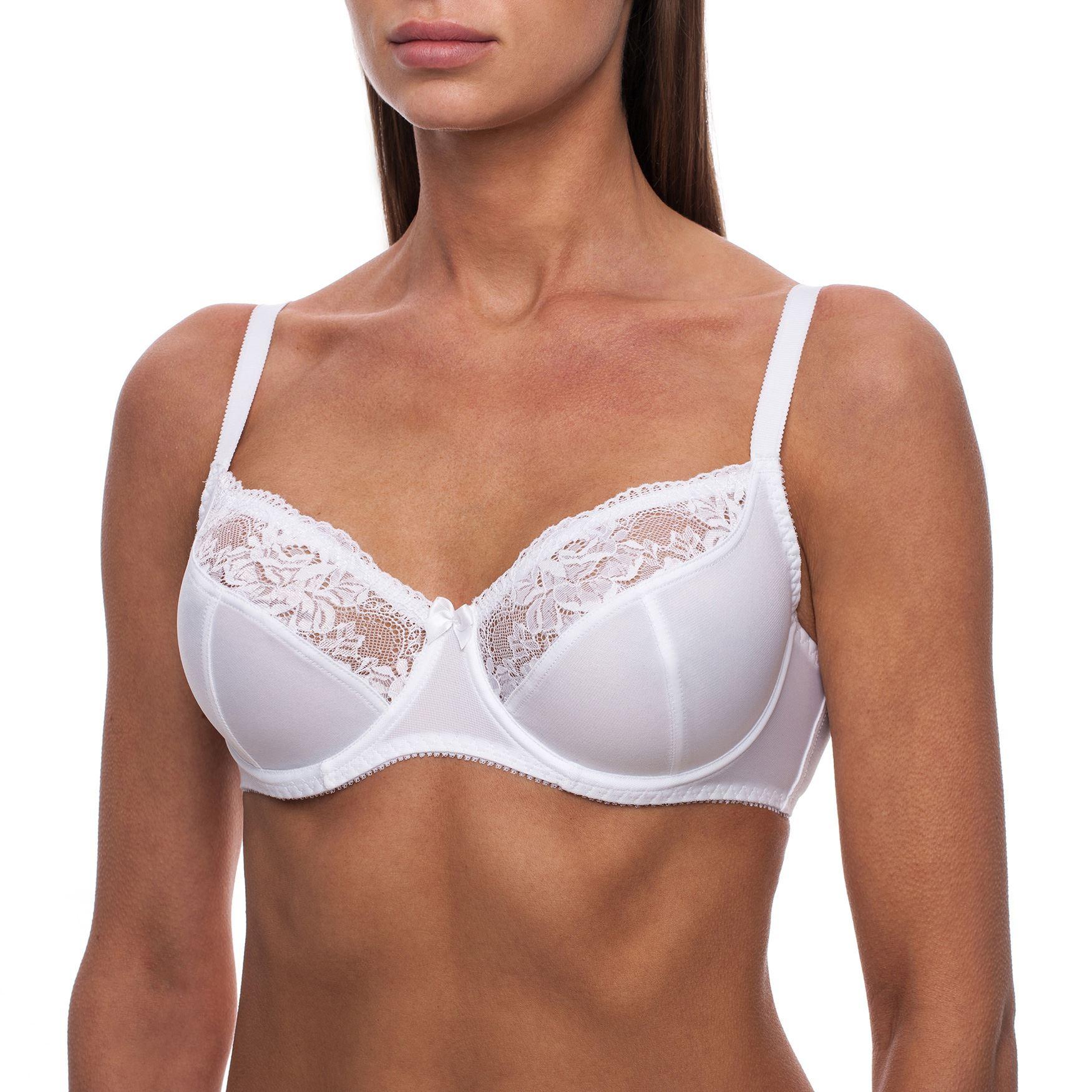 Soutien-gorge-sexy-Emboitant-Sans-complexe-Avec-armature-Non-rembourre-Femme