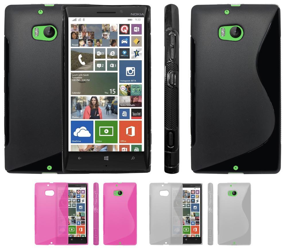 Neue transparent Sline Wave Silikon Gel Schutzh/ülle f/ür Nokia Lumia 930/Case Cover