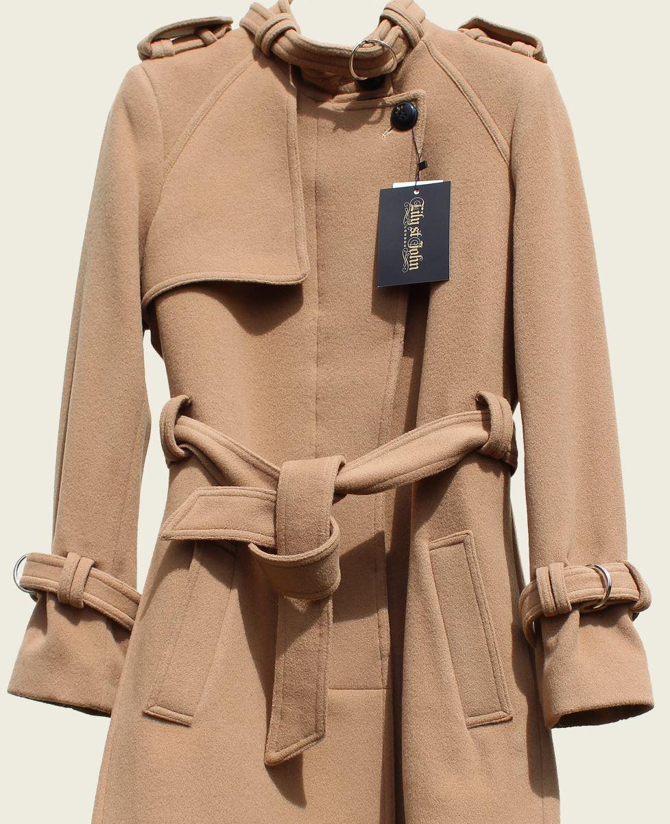 Collarless Ventura Tailored Blend Ladies Lsj Wool Women's Stylish v7Xx1U