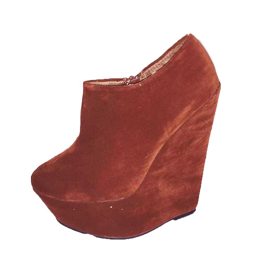 Suedette-platform-high-heel-wedge-ankle-boots