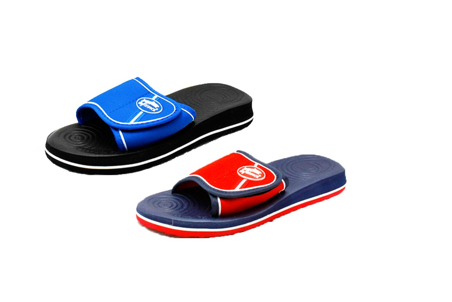 86f758650 Foam holiday   beach sandals with adjustable strap Older Boys   Mens ...