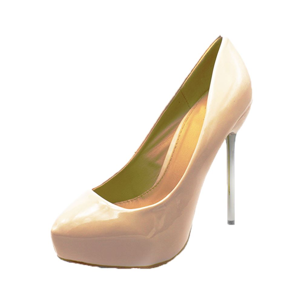 Ladies-high-heel-court-shoes-with-metal-stiletto-heel