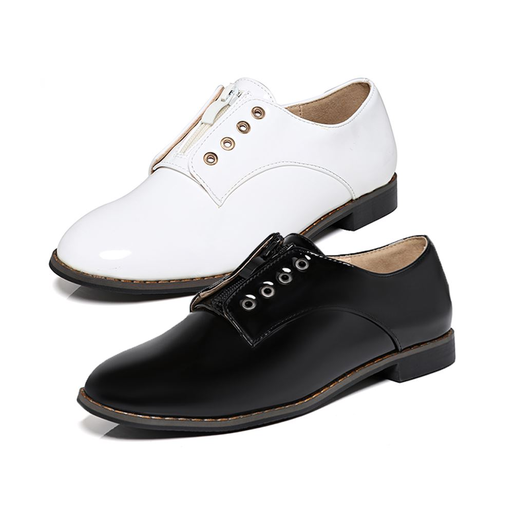 flat oxford style shoes