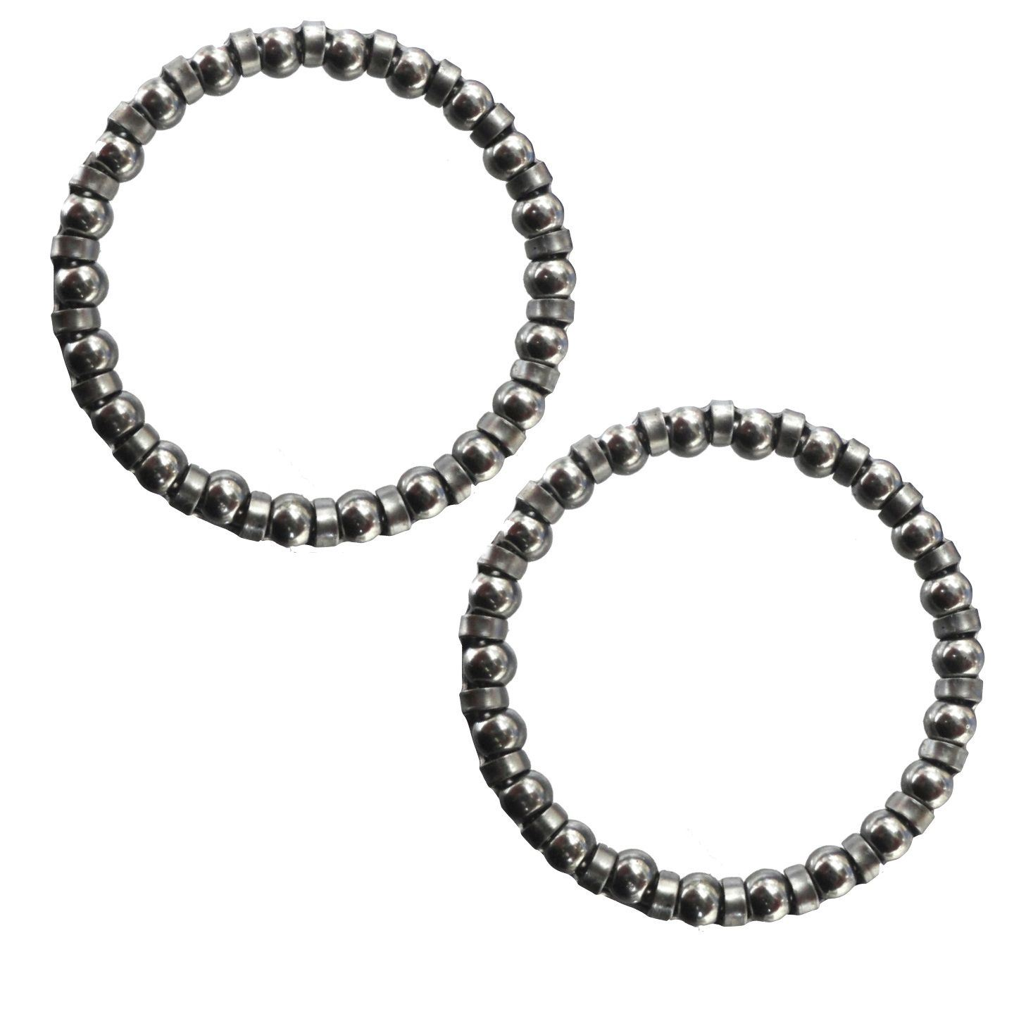 """Ball Bearings 5/32"""" Caged Headset Bearings OVERSIZED in Pairs (Loose Bagged)"""
