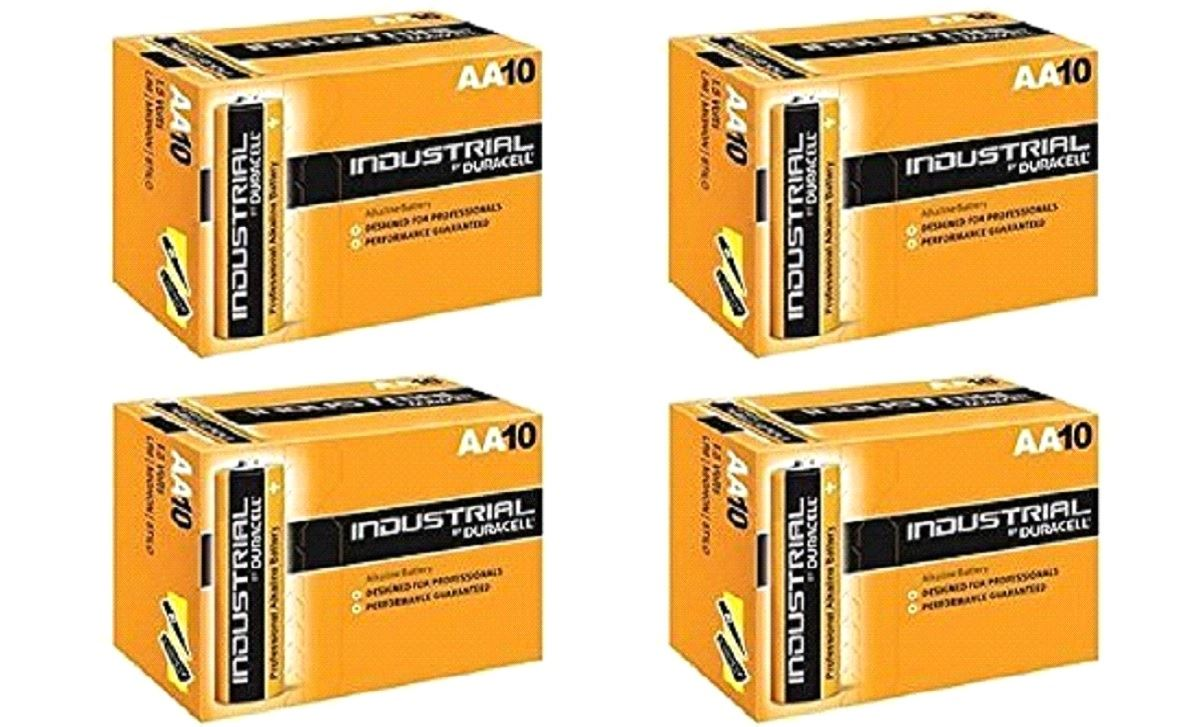 Duracell Aa Industrial Battery 40 Alkaline Replaces Procell Expiry 2021