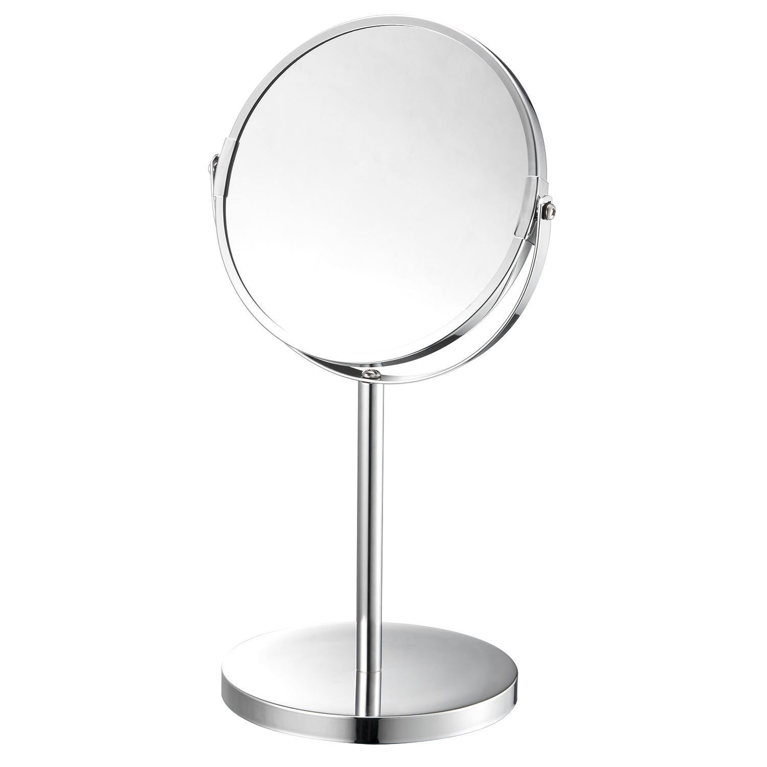 Chrome Magnifying Make Up Cosmetic Shaving Vanity Double Sided Swivel Mirror