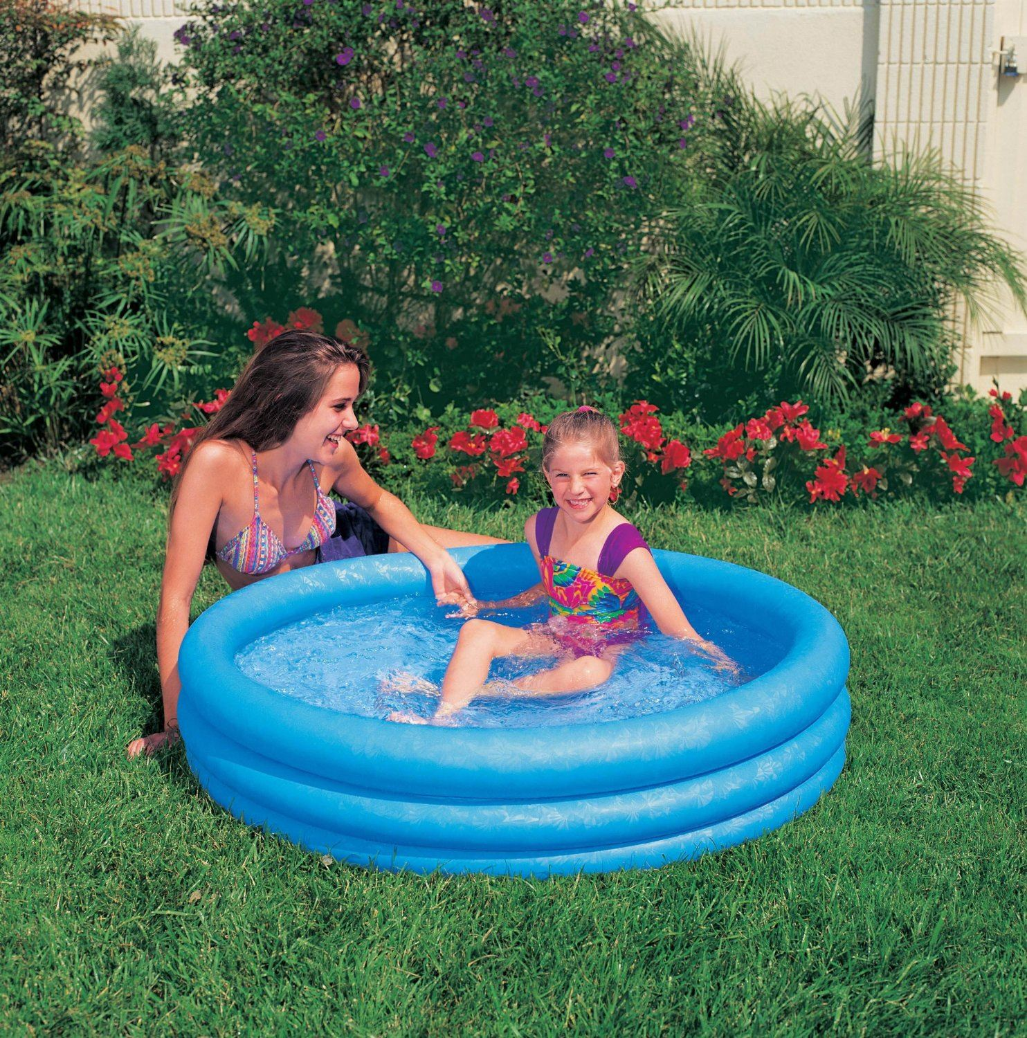Inflatable Pool Slide Uk: Paddling Pool Kids Swimming Pools Inflatable Childrens