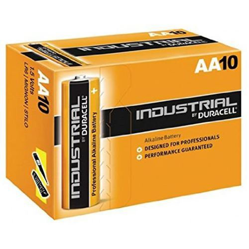 Duracell Aa Industrial Battery 10 Alkaline Replaces Procell Expiry 2021