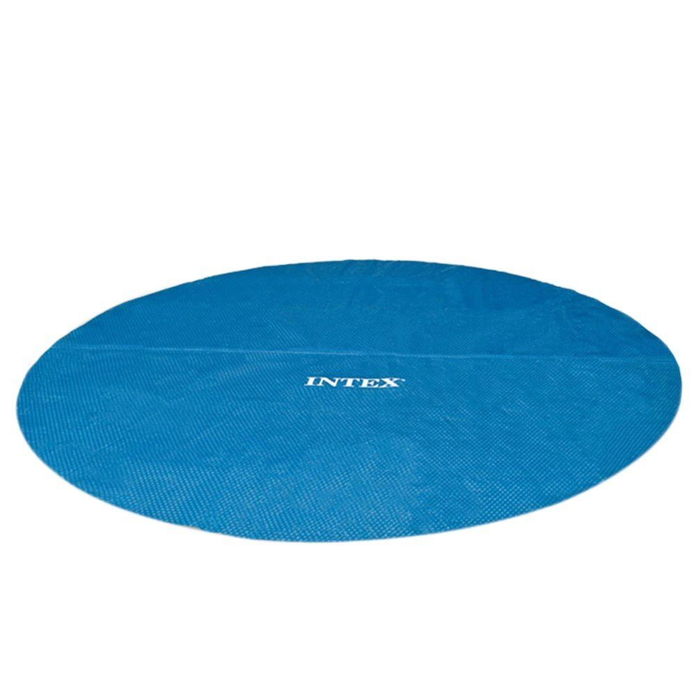 Intex 29023 Solar Pool Cover For 15foot Frame Or Easy Set Pools
