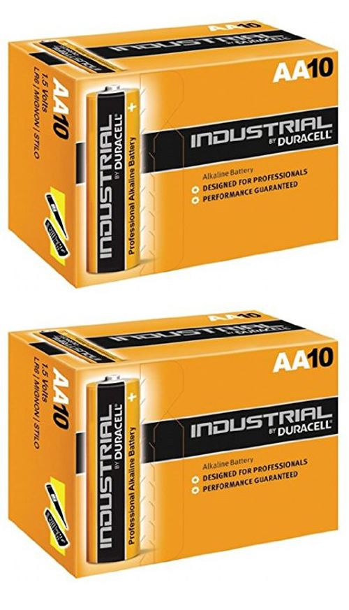 Duracell Aa Industrial Battery 20 Alkaline Replaces Procell Expiry 2021
