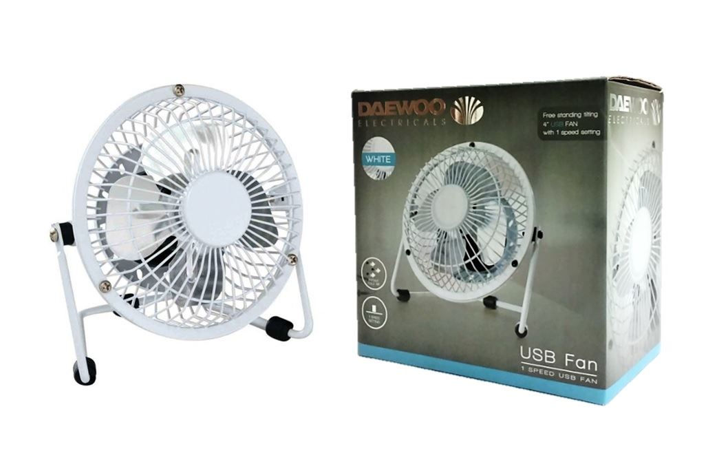 Desk Tower Fan : Fan pedestal fans oscillating stand desk clip usb home