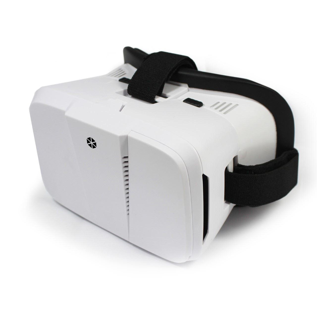 3d Glasses Video Headset Vr Virtual Reality For Samsung Iphone Smartphones White