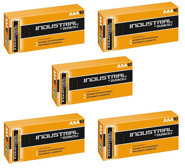 Duracell Aaa Industrial Battery 50 Alkaline Replaces Procell