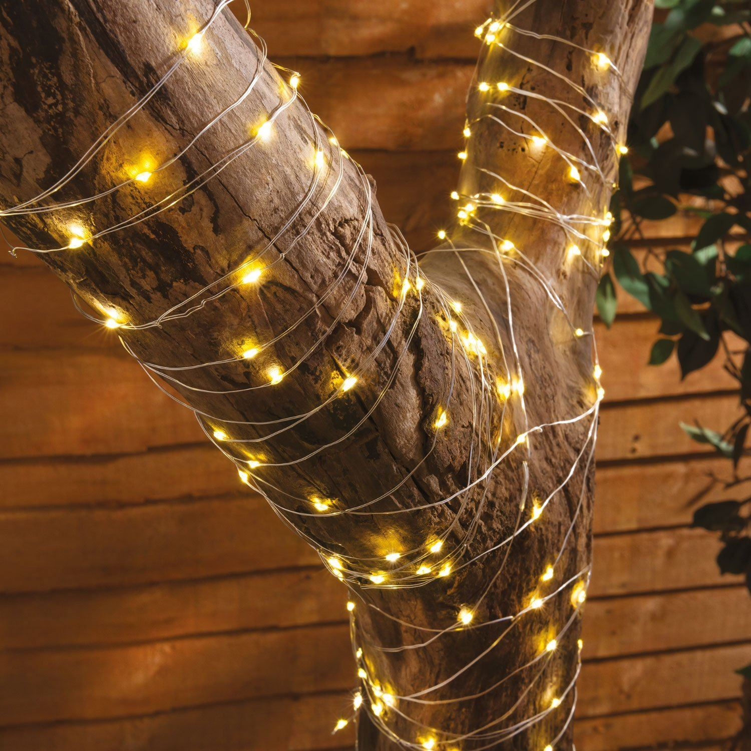 check out 2bc3c bab57 Details about 200 LED Solar Powered Copper Wire String Lights Ambiance  lighting for Garden