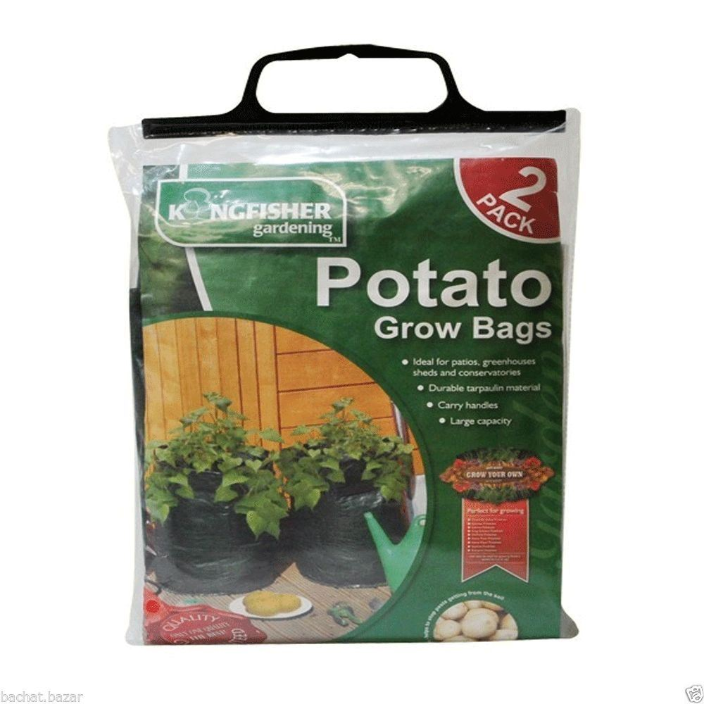 Gardening 2 Pk Potato Grow Bag For Professional & Home Gardener Vegetables Grow