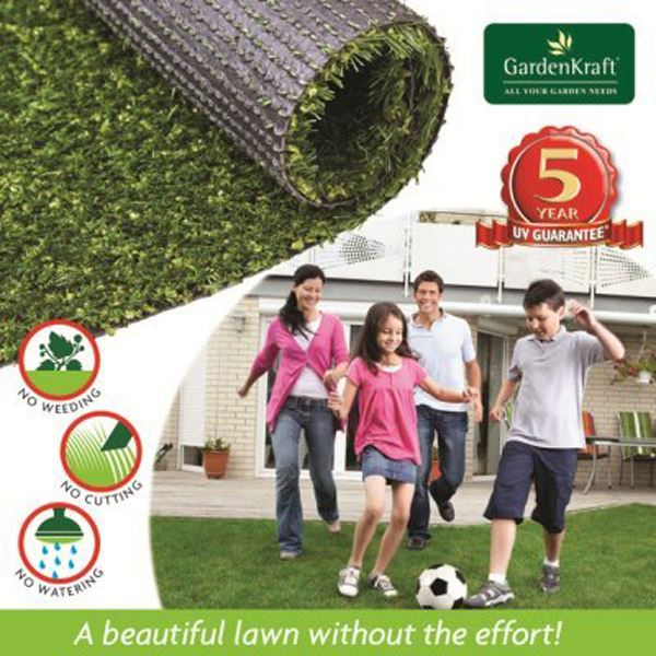 4m x 1m  Artificial Grass  Astro Turf Realistic Natural Green Lawn Garden