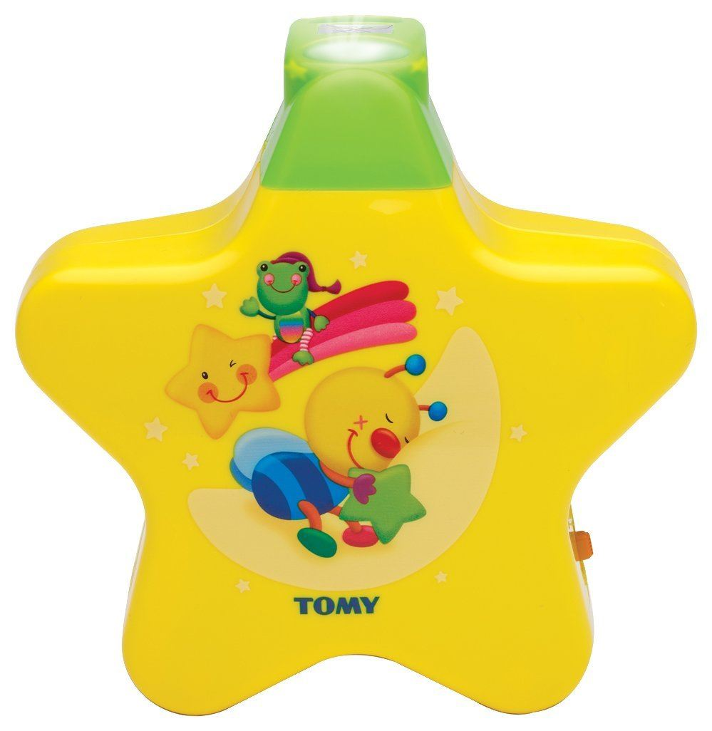 Tomy 2008 Starlight Dreamshow Baby Night Light Ceiling Projector Yellow Bee New