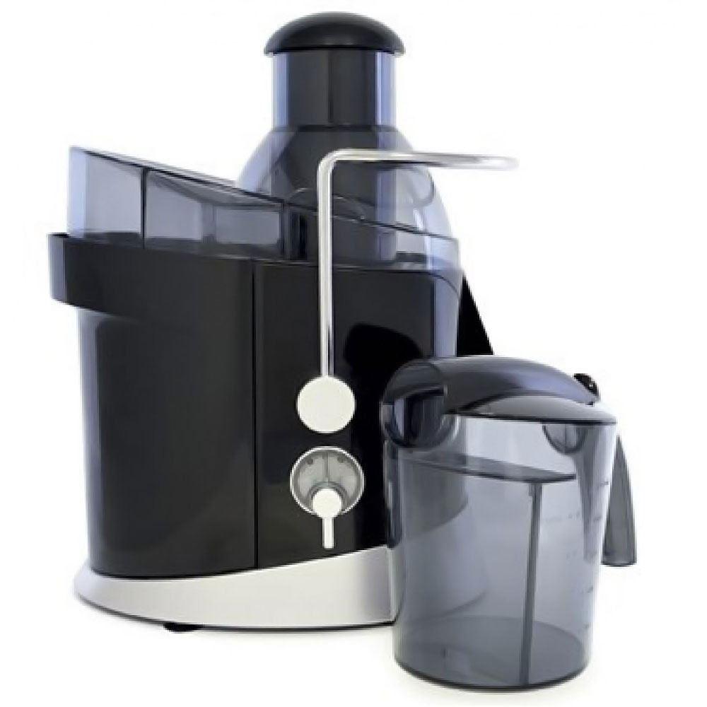 Lloytron Kitchen Perfected Full-fruit Juice Extractor, 600 W, 1.3 Litre, Black