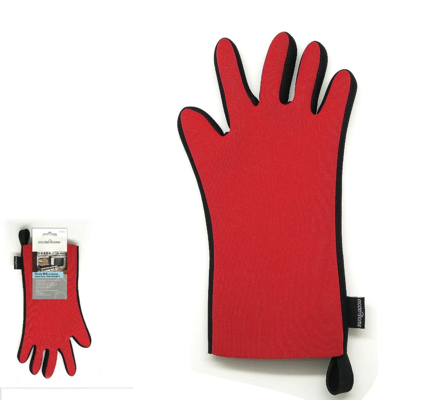 Oven Mitt 5 Fingers Heavy Duty Heat Resistant