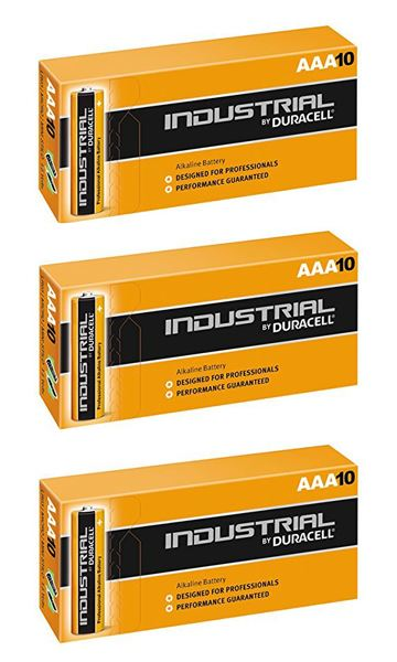 Duracell Aaa Industrial Battery 30 Alkaline Replaces Procell