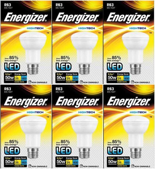 Energizer-HighTech-DEL-R63-Reflecteur-Ampoule-9-5-W-50-W-classe-energetique-Bon-etat