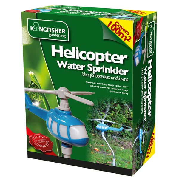Helicopter Rotating Garden Water Sprinkler