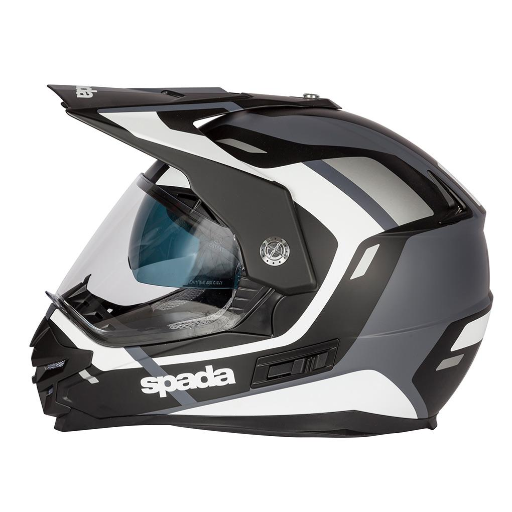 SPADA INTREPID MATT BLACK X-SMALL HELMET