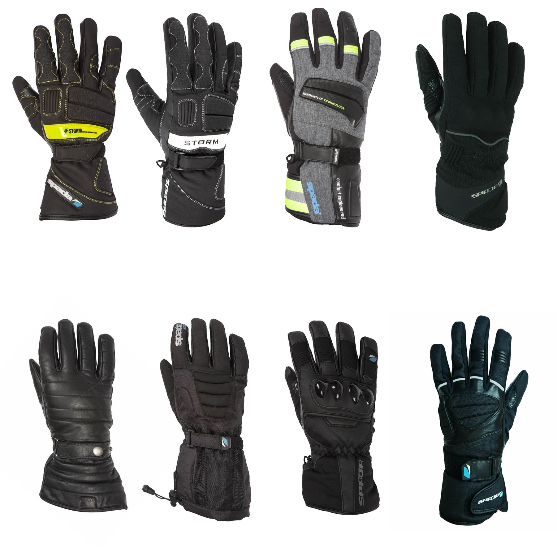 Spada-Waterproof-Motorcycle-Gloves-Winter-Touring-Commuting-All-Styles-amp-Sizes