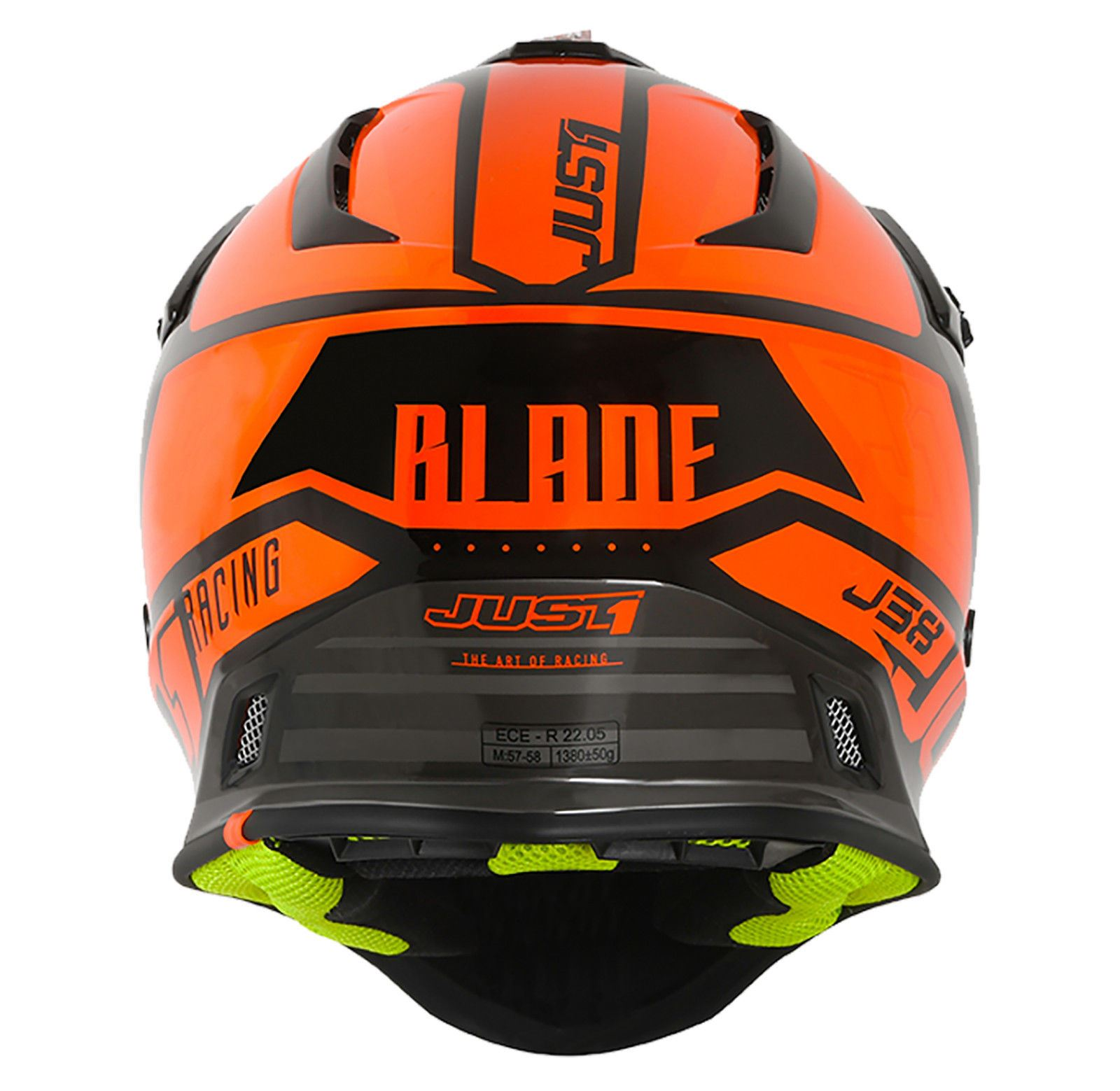 Just1-J38-Blade-Helmet-Motocross-Enduro-MX-ATV-Motorcycle-Off-Road-Full-Face-ACU thumbnail 34
