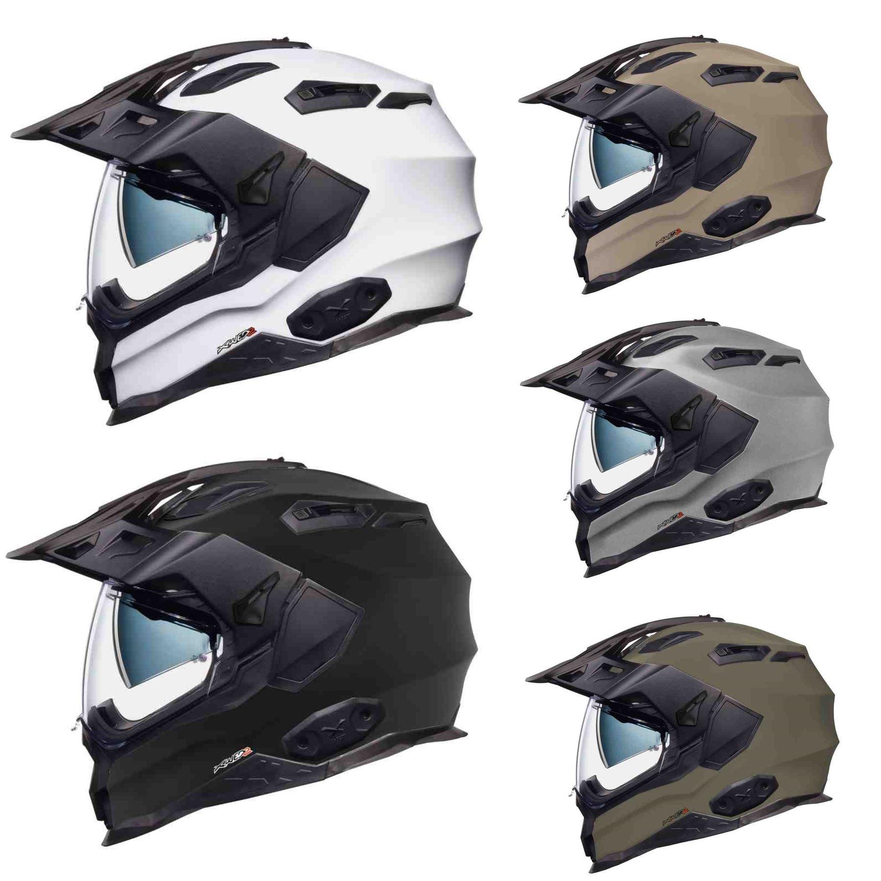fb2d7968 Details about Nexx X.WED2 Adventure Motorcycle Helmet Sun Visor & Pinlock  All Colours