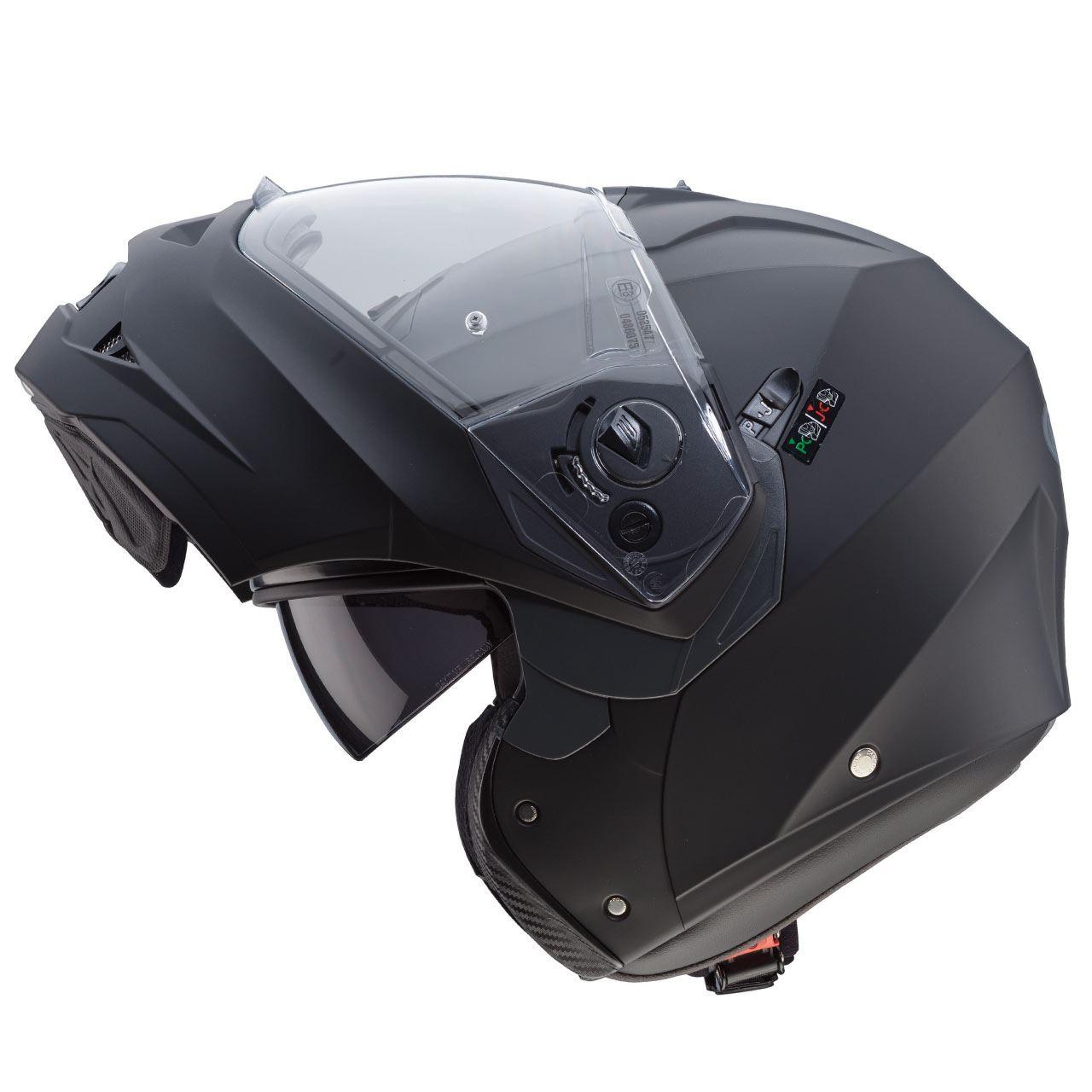 Caberg-Duke-II-Flip-Front-Motorcycle-Helmet-Modular-Bike-Sun-Visor-amp-Pinlock thumbnail 15