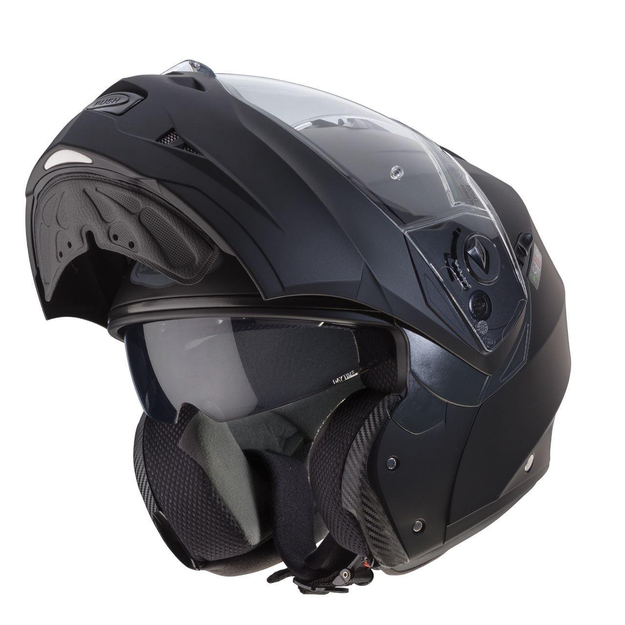 Caberg-Duke-II-Flip-Front-Motorcycle-Helmet-Modular-Bike-Sun-Visor-amp-Pinlock thumbnail 16