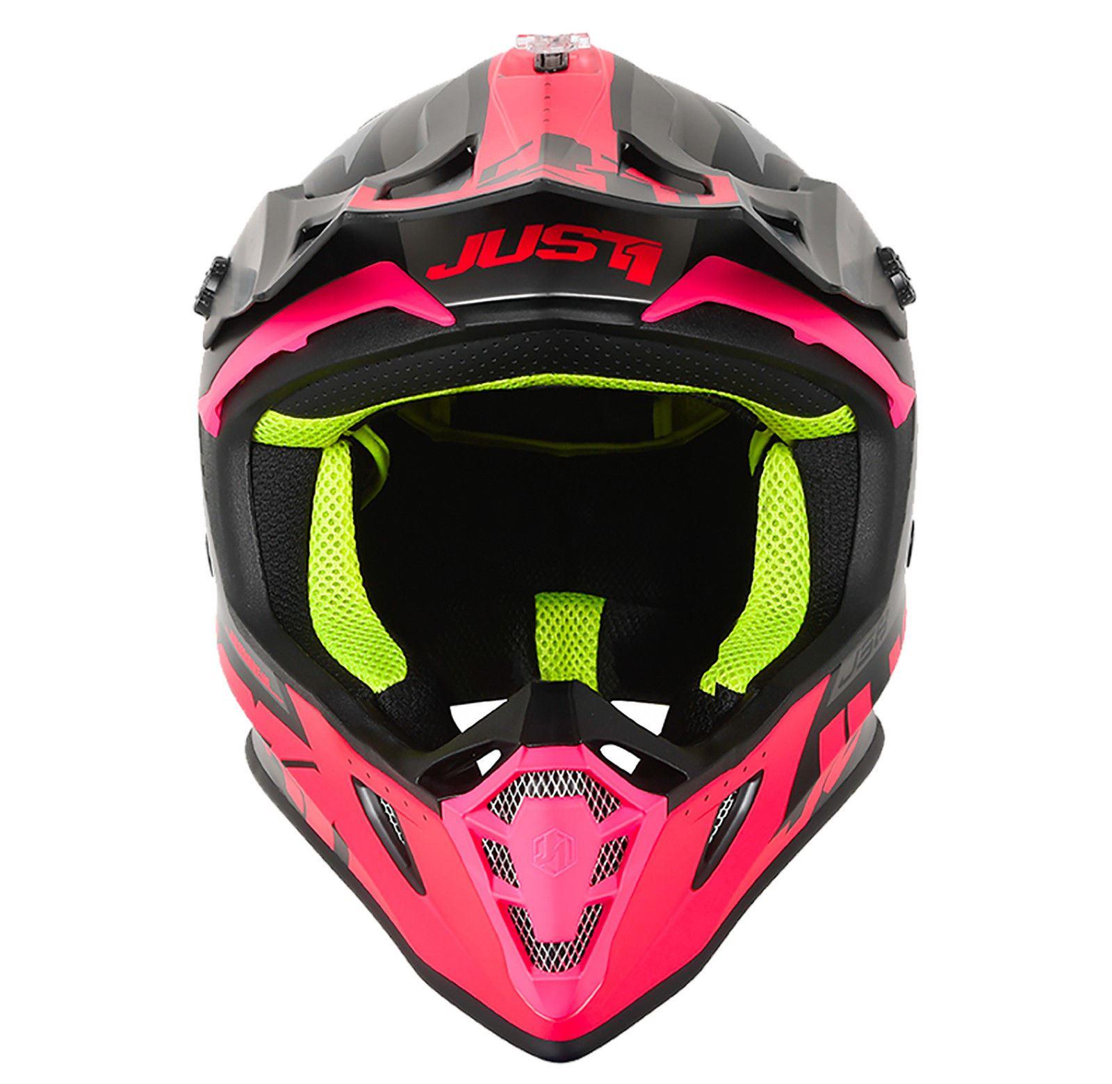 Just1-J38-Blade-Helmet-Motocross-Enduro-MX-ATV-Motorcycle-Off-Road-Full-Face-ACU thumbnail 27