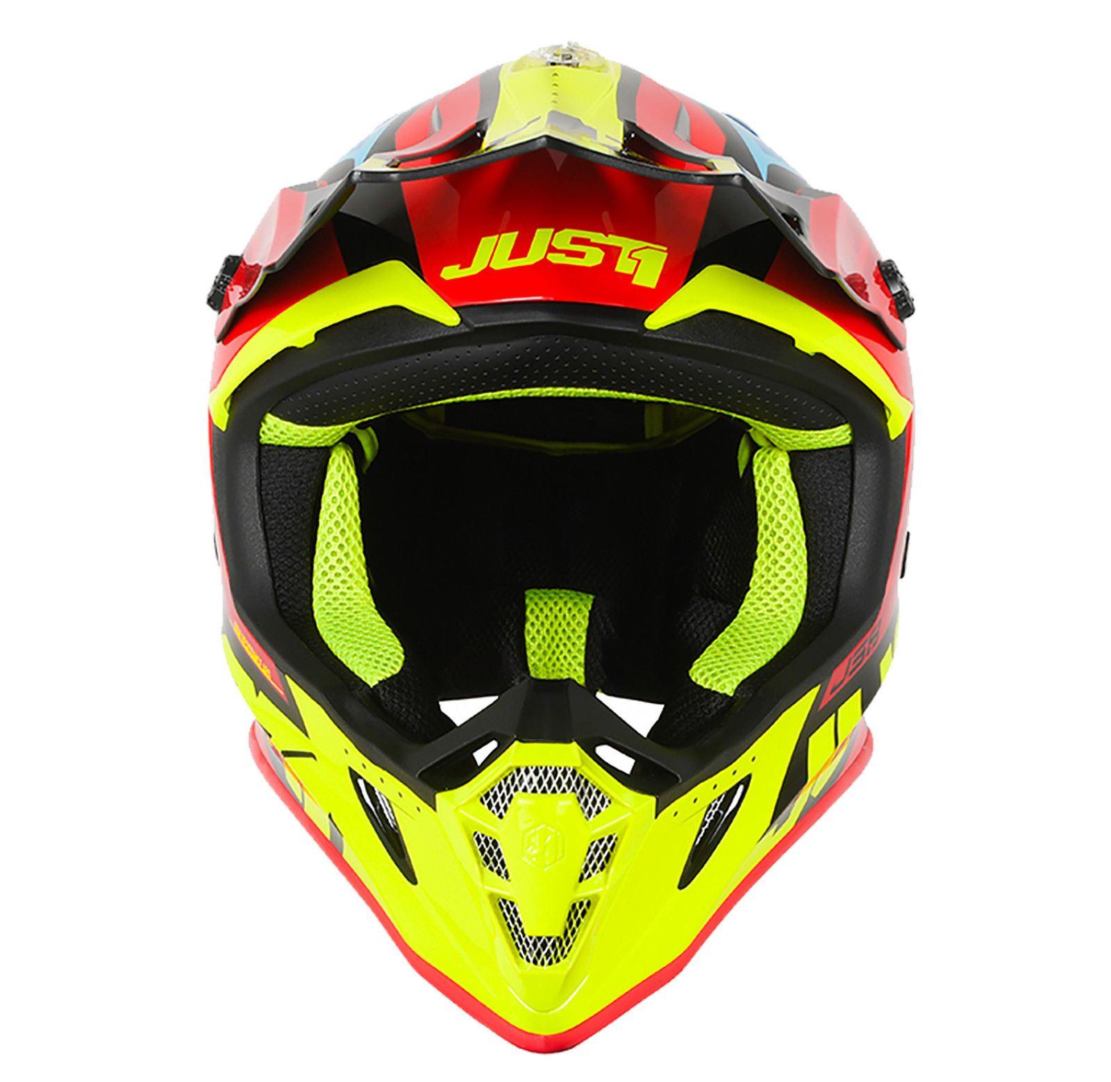Just1-J38-Blade-Helmet-Motocross-Enduro-MX-ATV-Motorcycle-Off-Road-Full-Face-ACU thumbnail 15