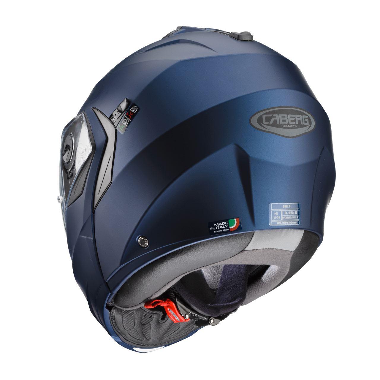 Caberg-Duke-II-Flip-Front-Motorcycle-Helmet-Modular-Bike-Sun-Visor-amp-Pinlock thumbnail 21