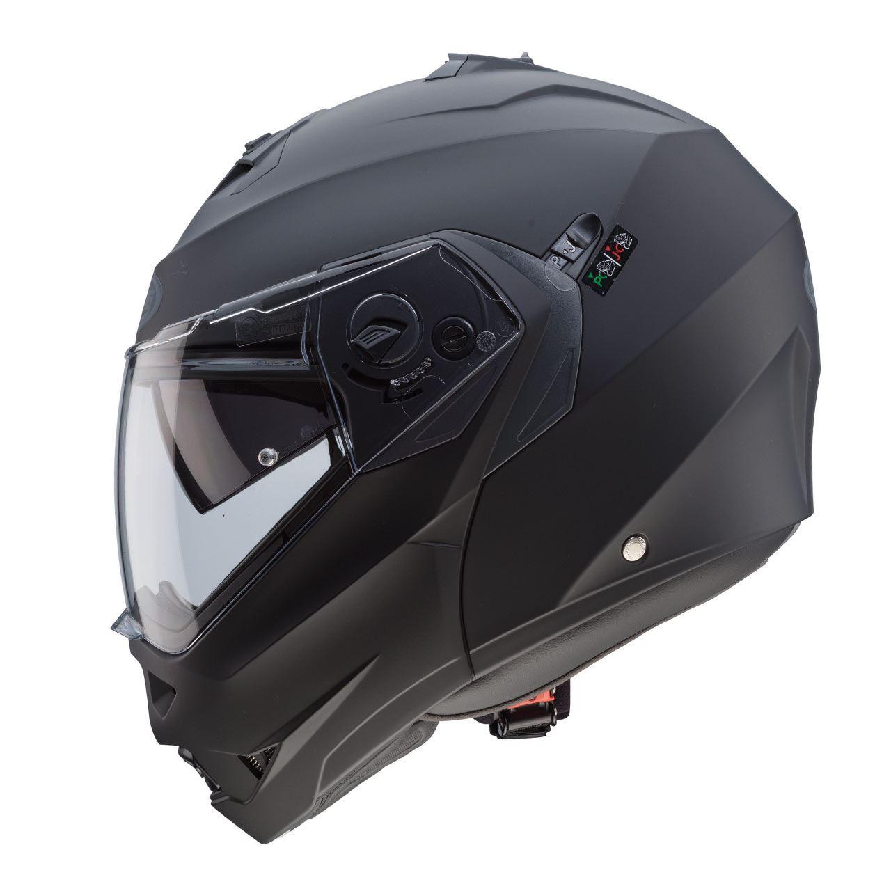 Caberg-Duke-II-Flip-Front-Motorcycle-Helmet-Modular-Bike-Sun-Visor-amp-Pinlock thumbnail 17