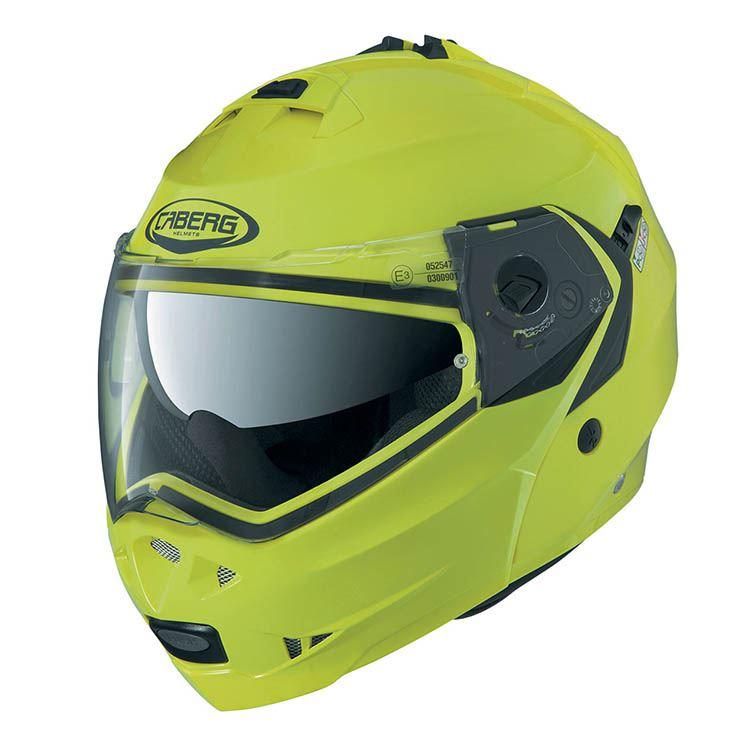 Caberg-Duke-II-Flip-Front-Motorcycle-Helmet-Motorbike-Modular-Bike-Sun-Visor