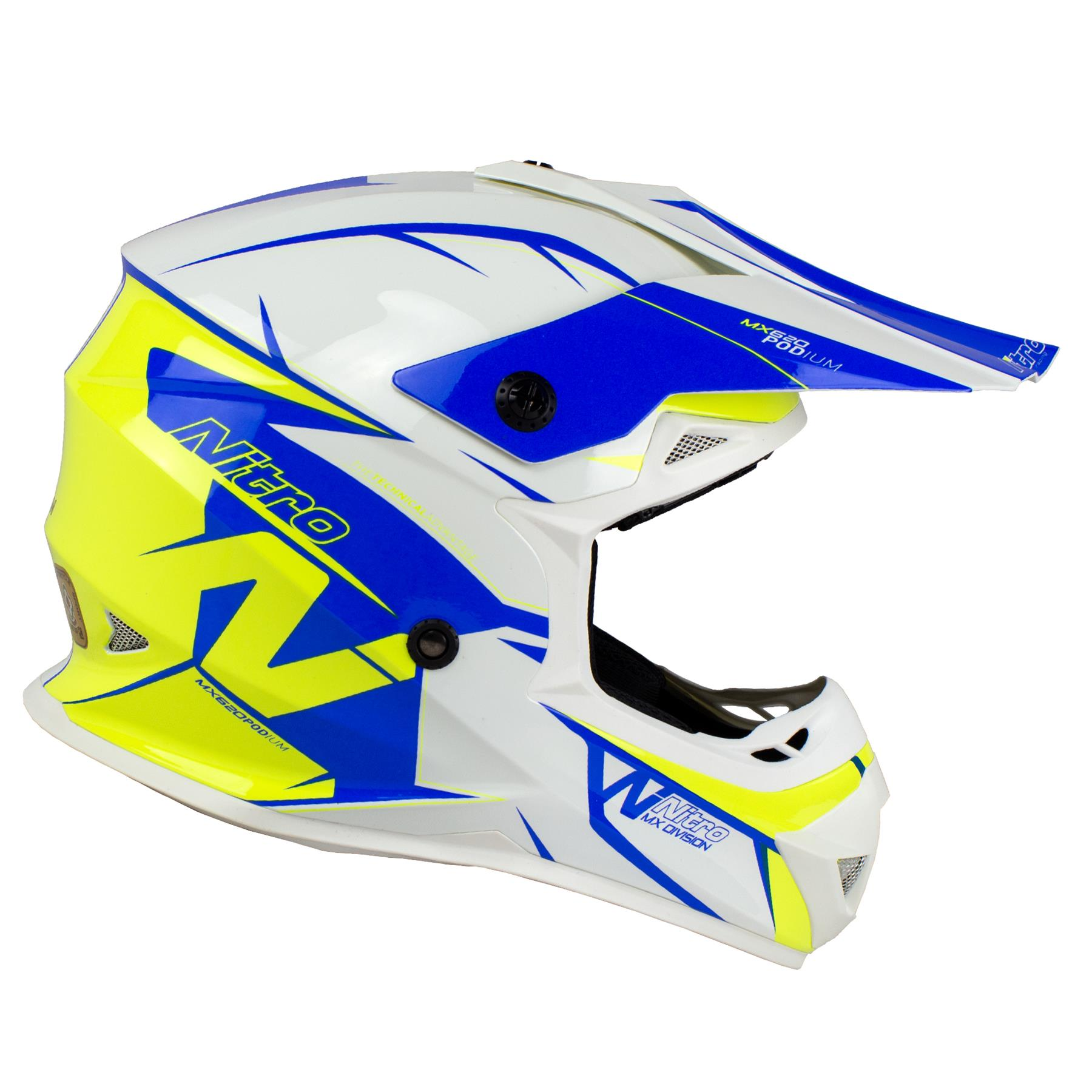 Nitro-MX620-Podium-MX-Motorcross-Motorcycle-Helmet-ATV-Enduro-ACU-Adult-Youth thumbnail 38
