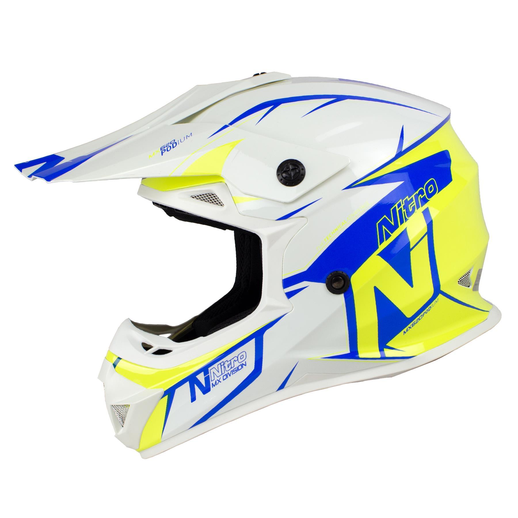 Nitro-MX620-Podium-MX-Motorcross-Motorcycle-Helmet-ATV-Enduro-ACU-Adult-Youth thumbnail 37