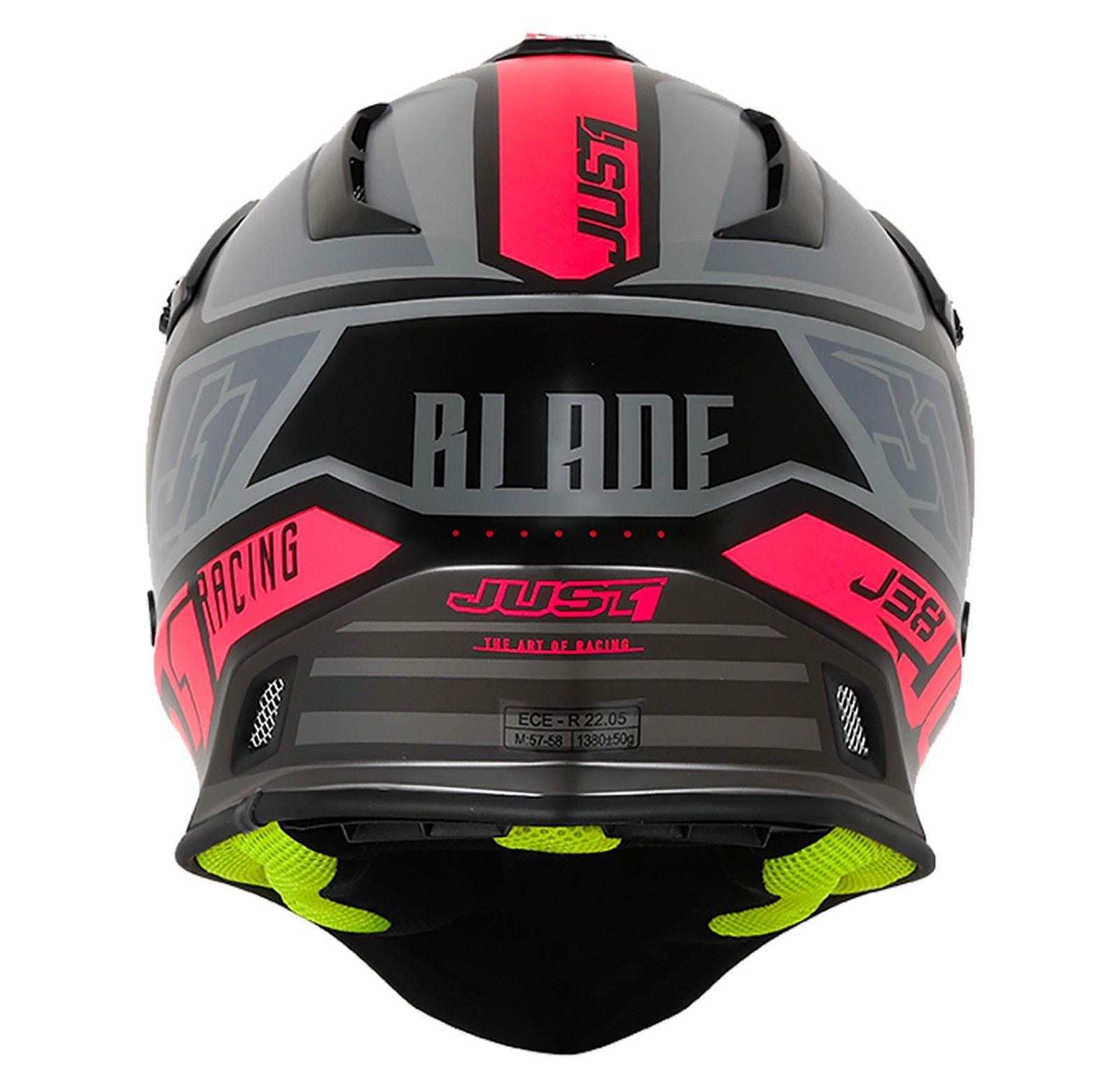 Just1-J38-Blade-Helmet-Motocross-Enduro-MX-ATV-Motorcycle-Off-Road-Full-Face-ACU thumbnail 25