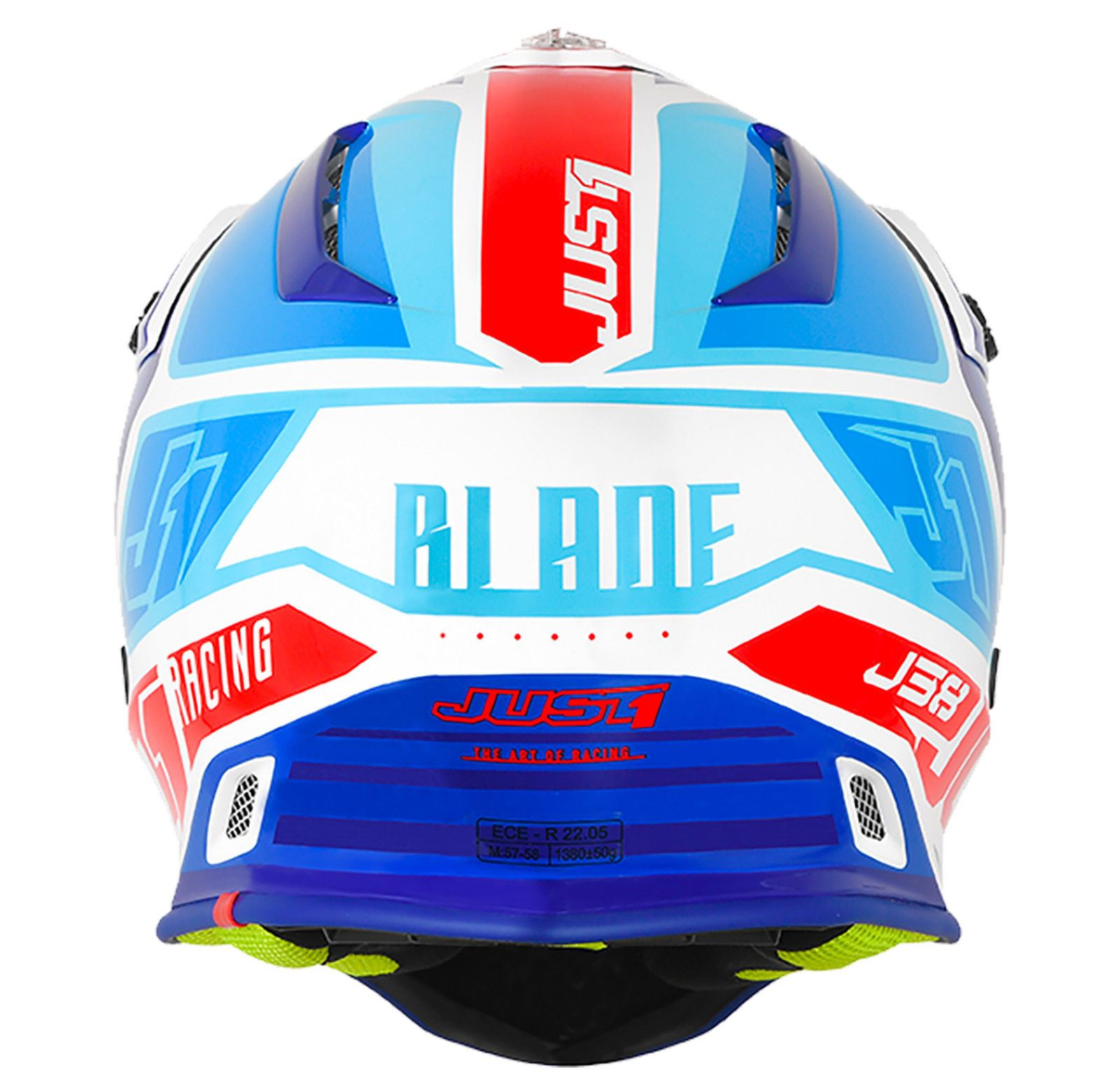 Just1-J38-Blade-Helmet-Motocross-Enduro-MX-ATV-Motorcycle-Off-Road-Full-Face-ACU thumbnail 21