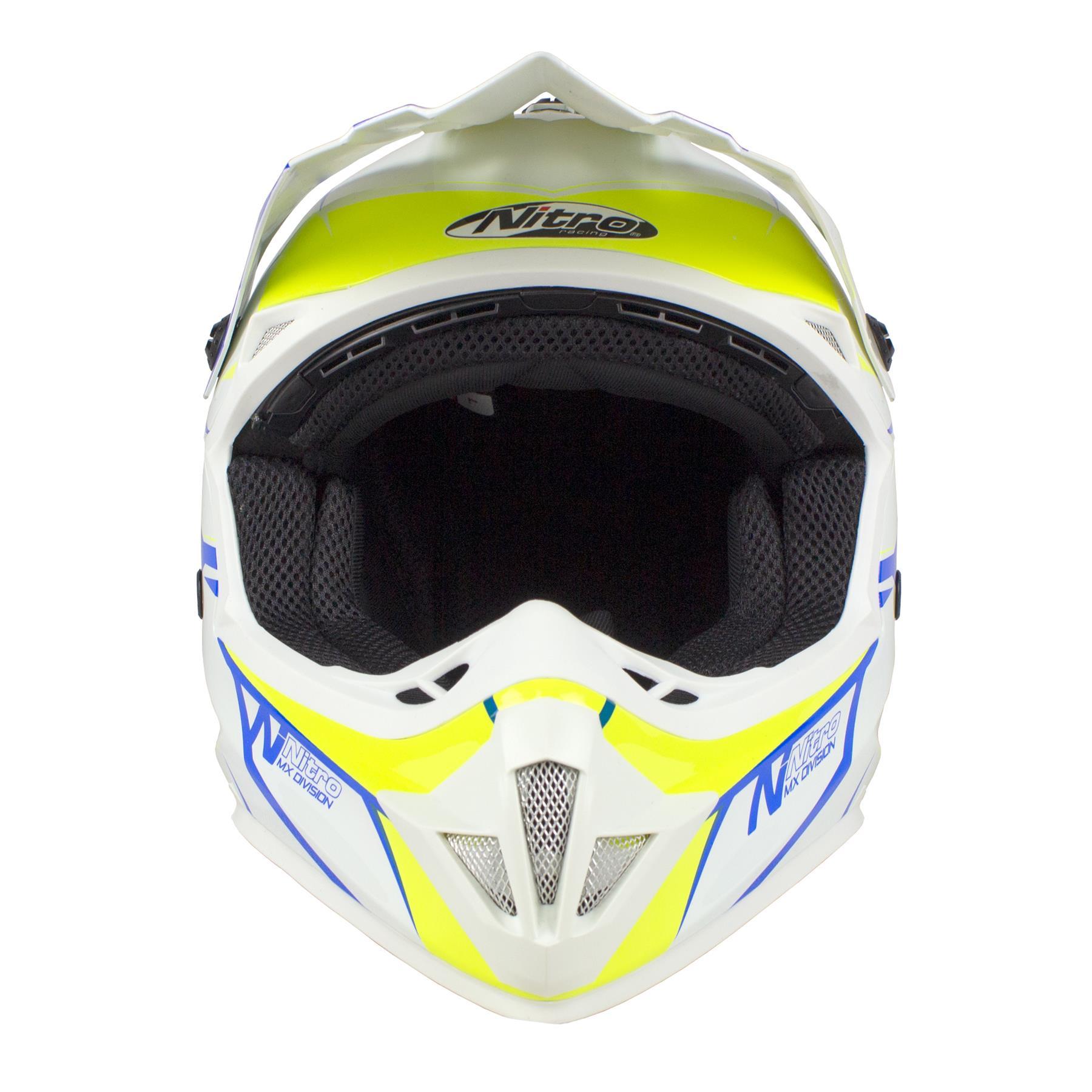 Nitro-MX620-Podium-MX-Motorcross-Motorcycle-Helmet-ATV-Enduro-ACU-Adult-Youth thumbnail 36