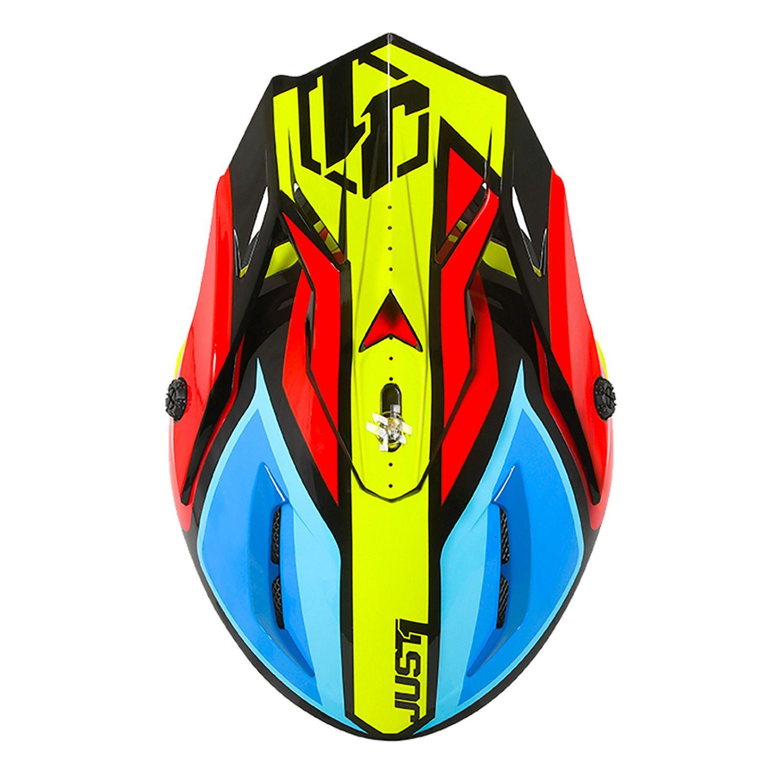 Just1-J38-Blade-Helmet-Motocross-Enduro-MX-ATV-Motorcycle-Off-Road-Full-Face-ACU thumbnail 14