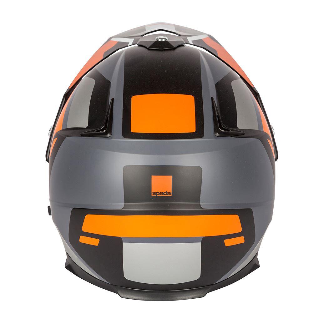 Spada-Intrepid-Full-Face-Motorcycle-Off-Road-Adventure-Style-Helmet-Sun-Visor thumbnail 17