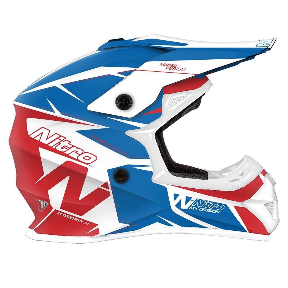 Nitro-MX620-Podium-MX-Motorcross-Motorcycle-Helmet-ATV-Enduro-ACU-Adult-Youth thumbnail 14