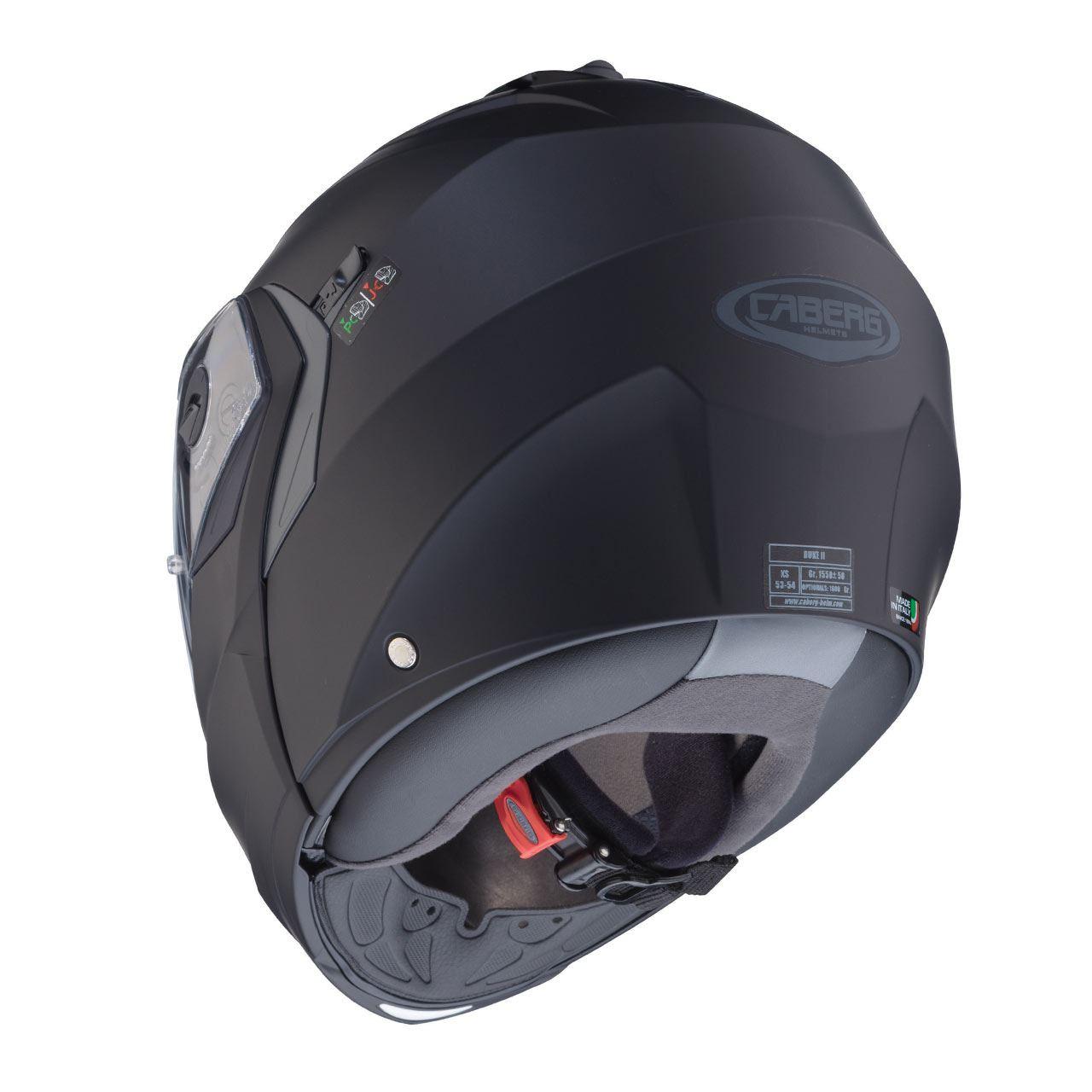 Caberg-Duke-II-Flip-Front-Motorcycle-Helmet-Modular-Bike-Sun-Visor-amp-Pinlock thumbnail 14