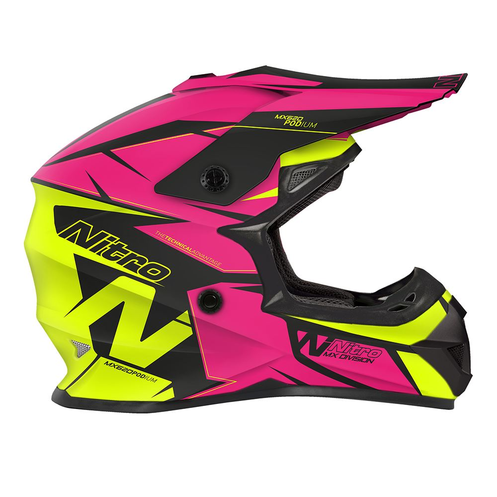 Nitro-MX620-Podium-MX-Motorcross-Motorcycle-Helmet-ATV-Enduro-ACU-Adult-Youth thumbnail 22