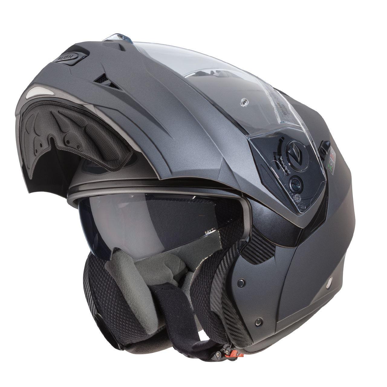 Caberg-Duke-II-Flip-Front-Motorcycle-Helmet-Modular-Bike-Sun-Visor-amp-Pinlock thumbnail 25