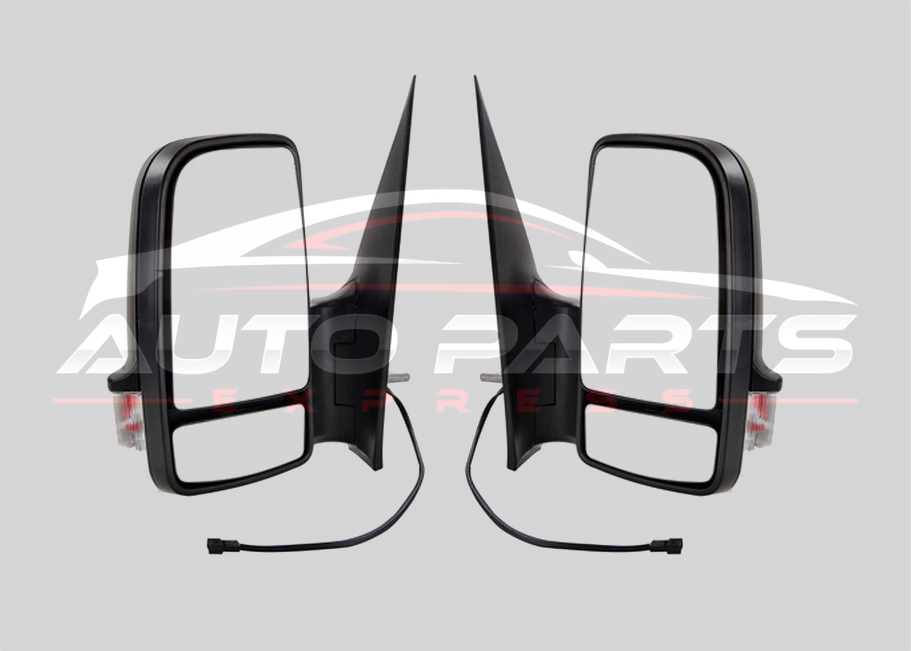 Mercedes Sprinter 2006-2018  SHORT  Arm Wing Mirror MANUAL RH RIGHT Driver Side